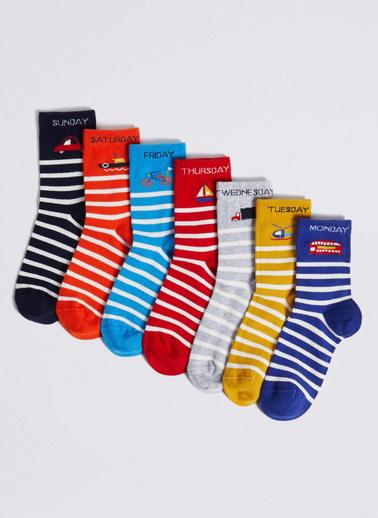 Marks & Spencer Çorap Seti Renkli